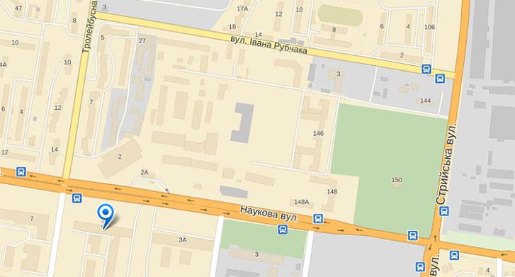 Lviv-map